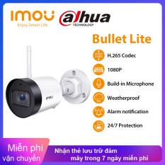 Camera Ngoài Trời Thời Tiết Dahua Imou IP67 Chuông Báo Micrô Tích Hợp Camera IP Wifi Tầm Nhìn Ban Đêm Thông Báo 30M