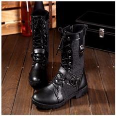 Giày bốt nam cá tính ADODA – ADDGN76 đen