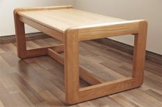 [HỖ TRỢ PHÍ VẬN CHUYỂN] Bàn học kiểu nhật- Bàn coffee kiểu nhật gỗ sồi (91.5L x 40.6H x 50.8W) – Sled Base Coffee Table