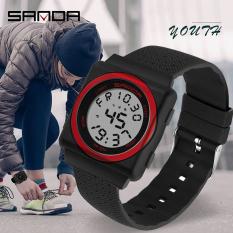 Đồng hồ Nữ Nam Unisex thể thao SANDA IRIS JAPAN, Kiểu Dáng Apple Watch, Thương hiệu Nhật, Siêu Chống Nước, Đồng hồ nữ cao cấp, Đồng hồ nữ thời trang, Đẹp,Sang trọng,Đẳng cấp, Bền, Giá Sốc, Đồng hồ nữ thể thao
