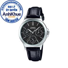 Đồng hồ nữ dây da Casio Standard chính hãng Anh Khuê LTP-V300L-1AUDF (33mm)
