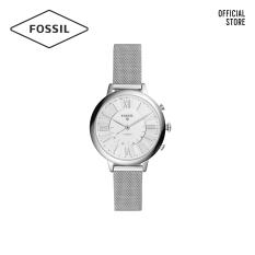 Đồng hồ nữ Fossil Hybrid Smartwatch Jacqueline dây thép không gỉ FTW5019 – màu bạc