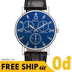 Đồng hồ nam, Đồng hồ thời trang, Đồng hồ Geneva G29 , Đồng hồ máy pin, Dây da cao cấp, Mặt máy mỏng, Phong cách doanh nhân, Sang trọng