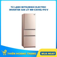 Tủ lạnh Mitsubishi Electric Inverter 326 lít MR-CX41EJ-PS-V