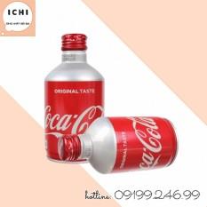Coca Cola Nhật Nắp Vặn Chai 300Ml (Date: 10.2021)
