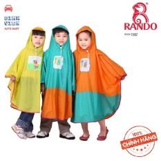 [ CAO CẤP] Áo mưa bướm trẻ em Rando Pocho dành cho các bé có độ tuổi từ (5 tuổi đến 6 tuổi) tương đương với size số 2