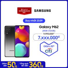 [SIÊU SALE 23.9] Điện thoại Samsung Galaxy M62 – Siêu pin 7.000mAH lớn nhất trên điện thoại Galaxy – Bảo hành chính hãng 12 tháng