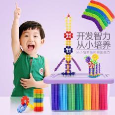 Đồ chơi lắp ráp thông minh cho bé – Bộ đồ chơi xếp hình vừa chơi vừa học hình bông hoa cho trẻ – Bản đầy đủ.