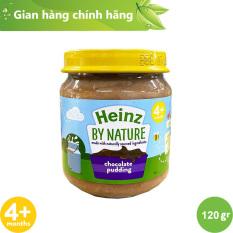 Lọ Hỗn Hợp Nghiền Pudding Sô-Cô-La HEINZ – Dành cho bé từ 4 tháng tuổi trở lên [Date: 30.11.21]