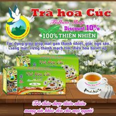 Trà Hoa Cúc Điều Hòa Huyết ÁpThanh Nhiệt Cho Giấc Ngủ Ngon (Hộp 50 Túi Lọc X 2g) – Nguyên Thái Trang – Thảo Dược Thiên Nhiên – Tốt Cho Sức Khỏe