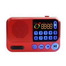 Đài radio FM S99 hỗ trợ thẻ nhớ, usb, jack 3.5 – Loa nghe nhạc mini