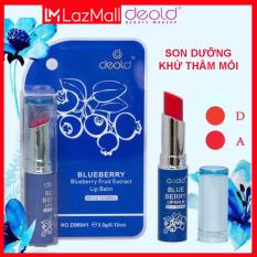 Son Dưỡng Khử Thâm Có Màu Deold Blueberry Lip Balm (màu Đỏ tươi) 3.3g