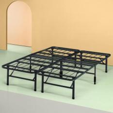 [FREESHIP ĐƠN 2TR5]Giường Sắt Xếp Thông Minh Zinus Smart Base 160x200x35cm