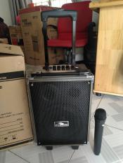 Loa kéo karaoke bluetooth Q8 thùng gỗ cực hay bản mới 2019
