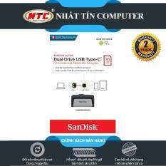 USB OTG Sandisk Ultra Dual Type-C 3.1 16GB 130MB/s (Bạc)