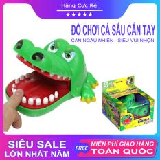 Đồ chơi trẻ em Cá sấu cắn tay Size To 15cm – Shop Hàng Cực Rẻ