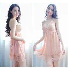 Váy Ngủ Ren 2 Dây Cao Cấp Kèm Chíp Xinh Xắn V53