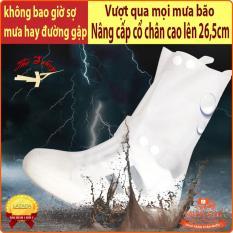 [XẢ KHO 3 NGÀY] Bao giày đi mưa chất lượng cao, chống trơn trượt, siêu bền- QUẮT SHOP