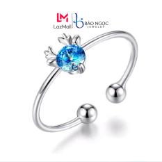 Nhẫn Nữ Bạc S925 Nhẫn Bạc Nữ Hình Hươu Thiết Kế Đơn Giản Tinh Tế Cho Nữ – N2622 – Bảo Ngọc Jewelry