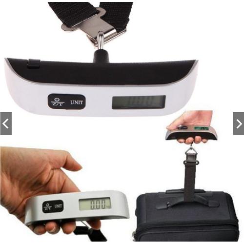 Siêu Tiện Loiwk Cân Hành Lý Kỹ Thuật Số 50KG, Có màn hình led hiển thị rõ các thông số, thiết kế nhỏ gọn, độ sai thấp – Cân Hành Lý Xách Tay, Cân điện tử bỏ túi du lịch mini