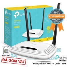 Bộ phát sóng không dây Wifi TP-Link TL-WR841N chuẩn N 300Mbps (2 ăng ten 5dBi) phân phối bởi Anh Ngọc/FPT/NamThanh/Tako