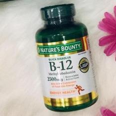 Combo Cung Cấp Vitamin B12 2500mcg 300 viên – Nature's Bounty