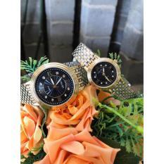 (Tặng kèm hộp và pin) Đồng hồ thời trang nam nữ Halei mặt số la mã dây Demi s2