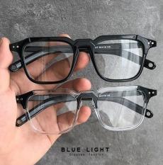 Kính Giả Cận Chống Ánh Sáng Xanh, Gọng Kính Cận Nam Nữ Mắt Vuông Cá Tính Nhựa Siêu Nhẹ Không Độ Hàn Quốc – BLUE LIGHT SHOP
