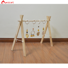 Kệ chữ A cho bé , đồ chơi cho bé, kệ gỗ chữ a cho bé Anzzar