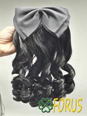 Tóc giả kẹp nơ trung niên, tóc búi nơ, tóc cài nơ trung niên