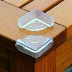 Bộ 4 bịt góc bàn silicon ăn toàn cho bé