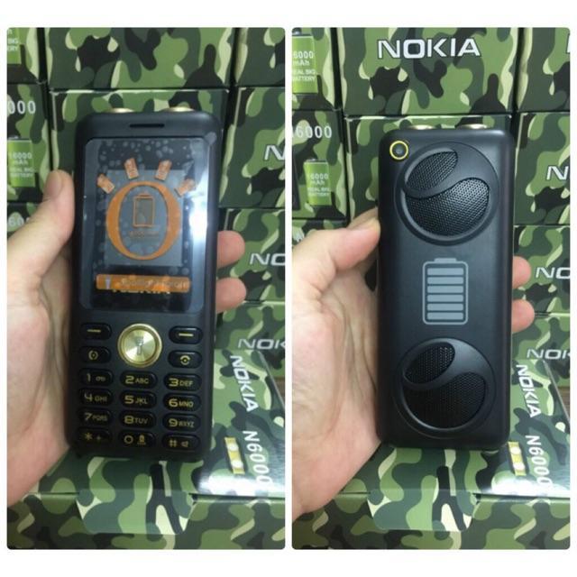 Điện thoại N6000 (4 sim, pin khủng, loa siêu to)