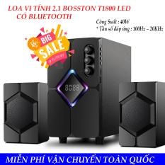Loa vi tính SoundMax – Mẫu loa hot nhất của bosston – Mua ngay LOA VI TÍNH 2.1 BOSSTON T1800 LED – BLUETOOTH. Chất lượng cao giá rẻ.