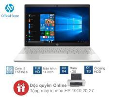 """[TẶNG KÈM MÁY IN HP 1010 TRỊ GIÁ 1100K] Laptop HP Pavilion 14-ce2041TU (Core i5-8265U/4GB RAM DDR4/1TB HDD/14"""" FHD/6ZT94PA) – Hàng Chính Hãng"""