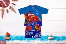 Đồ bơi bé trai hình xe Mc Queen từ 10-39kg-Đồ bơi trẻ em 2 mãnh-hình in sắc nét- Hương Nhiên