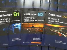 Combo Bộ 3 Cuốn Destination B1 – B2 – C1 & C2 – Sách photo đen trắng – Bìa màu gáy keo nhiệt như hình