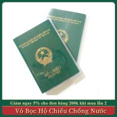Vỏ Bọc Hộ Chiếu, Bao Đựng Passport Chống Nước, Ẩm Mốc, Nhàu Nát, Có Ngăn Đựng Giấy Tờ Đi Kèm Tiện Dụng