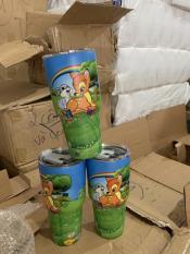 Ly và túi giữ nhiệt YETI Thái Lan + bộ ống hút Inox 12 CUNG HOÀNG ĐẠO VÀ HOẠT HÌNH