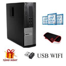 Case máy tính đồng bộ Dell Optiplex ( Core i7 2600 – Core i5 2500 – Ram 8gb – SSD 120Gb, Kèm Quà Tặng