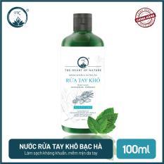 [SÁT KHUẨN] Nước rửa tay khô tinh dầu Bạc Hà PK 100ML – có kiểm định diệt khuẩn 99,9%