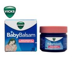 Dầu Bôi Ấm Ngực Vic Babybalsam Cho Bé