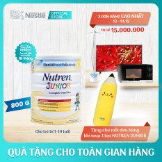 [FREESHIP] Sản phẩm dinh dưỡng y học Nutren Junior cho trẻ từ 1-10 tuổi 800g + Tặng 1 gối ôm bút chì – Cam kết HSD còn ít nhất 10 tháng – Giới hạn 5 sản phẩm/khách hàng