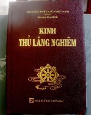 Kinh Thủ Lăng Nghiêm bìa da