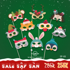 Set Icon Chụp hình Noel Tự Thiết Kế Đáng Yêu – Whitestore.vn