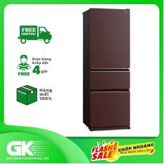 [THU THẬP VOUCHER GIẢM 1.000K TỪ LZD] TRẢ GÓP 0% – Tủ lạnh Mitsubishi MR-CGX46EN-GBR-V inverter 365 lít- Bảo hành 2 năm
