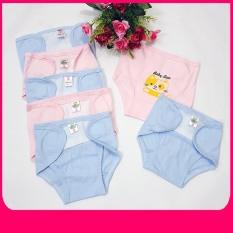 Combo 5/10 quần đóng, dán bỉm Baby Leo in hình cho bé ( Size 1 )