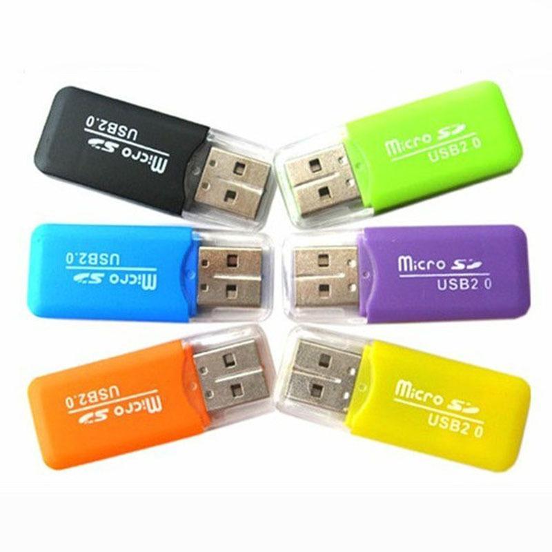 Đầu đoc thẻ MicroSD chuẩn 2.0 kiểu dáng nhỏ gọn (Mẫu ngẫu nhiên) - Nhất Tín Computer