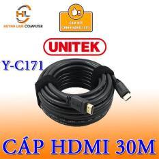 Cáp HDMI Unitek YC171 30m