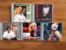 Bộ 5 Đĩa Nhạc CD Ca Sĩ Việt Nam – Đan Trường – Phương Thanh – Quang Dũng – Hồng Nhung