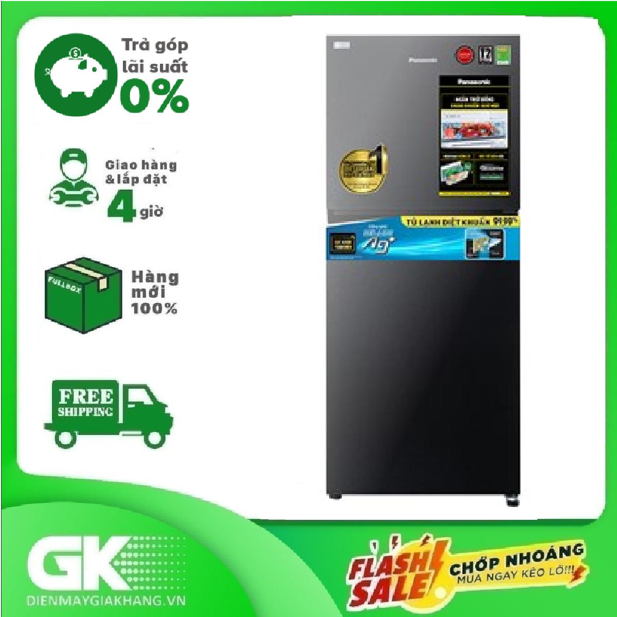 Tủ lạnh Panasonic Inverter 268 lít NR-TV301VGMV